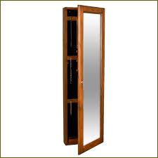 Jewelry Cabinet Mirror Jewelry Cabinet Mirror Free Standing Home Design Ideas
