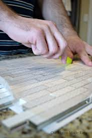 how to install a tile backsplash easily our home made easy