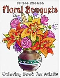 floral bouquets floral bouquets coloring book dover nature coloring book