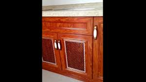 aluminum kitchen cabinet detail youtube