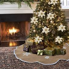 christmas tree decorations burlap christmas tree decorations