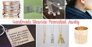 handmade personalized gifts handmade showcase personalized jewelry gifts golden age