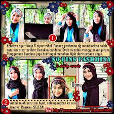 tutorial hijab turban ala april jasmine pintar pakai jilbab tutorial hijab pashmina satu menit hijab