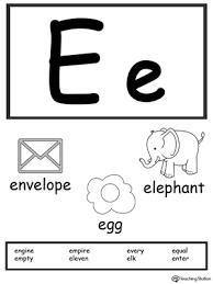 printable alphabet letter cards letter e printable alphabet flash cards for preschoolers