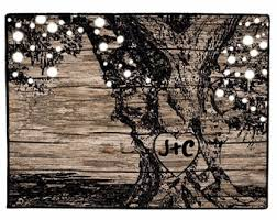 rustic tree etsy