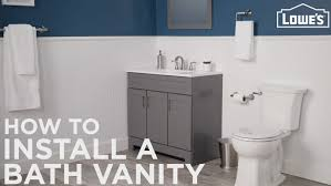 how to paint existing bathroom cabinets how to install a bathroom vanity