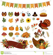 thanksgiving clip art pictures thanksgiving clip art set eps royalty free stock photo image