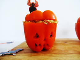 Vegetarian Halloween Appetizers Frighten Ly Healthy Halloween Treats Veggie Edition