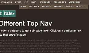 Html Top Navigation Bar Best Drop Down Menu Design Jquery Free Download 2017
