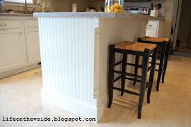 kitchen island ideas diy on the v side diy kitchen island update