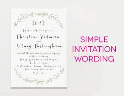 invitation greetings wedding invitation wording exles in various styles awesome
