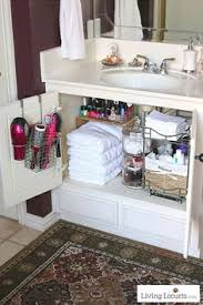 bathroom cabinet organizer ideas do this not that vanity storage makeup drawer cleaning