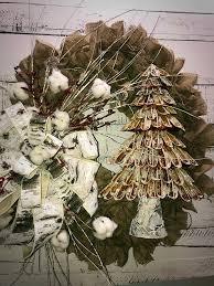 burlap christmas rustic christmas wreath burlap christmas wreath farmhouse wreath