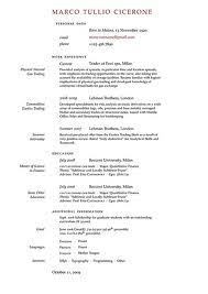 Good Sample Of Resume by Download How To Do A Good Resume Haadyaooverbayresort Com