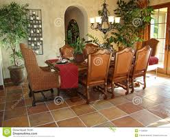 Spanish Style Dining Room Furniture Beautiful Dining Room Stock Photo Image 11796590