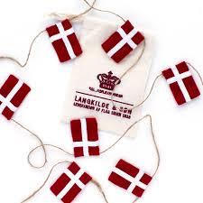 Dansk Flag Lille Flagranke Med Dannebrogsflag Flagranke Fra Langkilde U0026 Søn