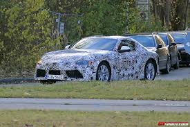 convertible toyota supra 2018 toyota supra latest spy shots with production body gtspirit