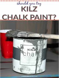 chalk paint on kitchen cabinets review kilz chalk paint should you try it our real