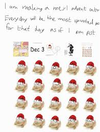 advent day six me irl your meme