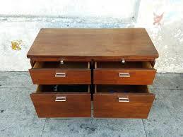 file cabinet credenza modern credenza file cabinet vintage walnut w keys modern cvid