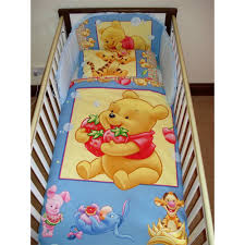 Winnie The Pooh Bedroom Set Disney Winnie The Pooh With Strawberries Bedding Set For Cot Or