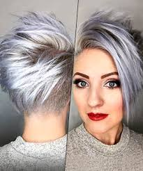 funky hairstyle for silver hair 120 best sassy sexy silver images on pinterest hairstyles 40