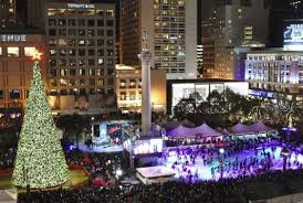 san francisco tree lighting 2017 free ice skating in union square 2017 18 sf funcheap