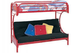 Kids Bunk Beds Futon Bunk Bed Wood Loft Beds The Futon Shop - Twin bunk bed with futon convertible