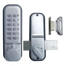 Keypad Interior Door Lock Keyless Mechanical Door Locks Digital Keypad Password Machinery