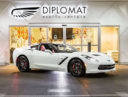rent a corvette for the weekend luxury car rental las vegas diplomat exotics 877 457 4337