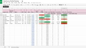 Google Spreadsheet Google Finance Data In Google Spreadsheet Stock Curves