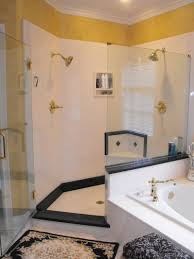 Shower Stalls For Small Bathrooms by Bathroom Gorgeous Picture Of Black And White Small Bathroom With