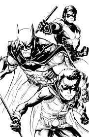 alien coloring pages batman and robin coloring pages to download and print for free