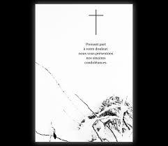 sprüche trauerkarte trauerkarte mit kreuz auf schnee prenant part à votre douleur