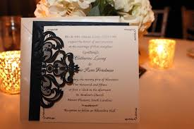 wedding invitations reviews graceful navy blue laser cut wedding invitation ewws030 as low as