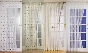 Patio Door Net Curtains Panel Net Curtains Functionalities Net