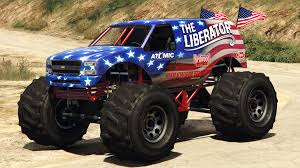 the liberator grand theft auto monster trucks and monsters the liberator