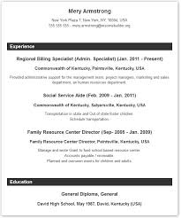 Samples Of Resume Formats by Resume Format Resume Builder With Examples And Templates To Win