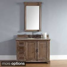 Barn Board Bathroom Vanity Rustic Bathroom Vanities U0026 Vanity Cabinets Shop The Best Deals
