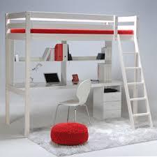 lit sureleve avec bureau lit mezzanine