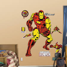 avengers wall stickers toys baby fathead clic iron man wall decal babiesrus