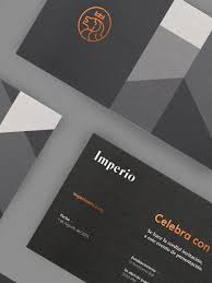 Fashion Photography Business Cards Imperio Branding By Sabbath Inspiration Grid Design Inspiration