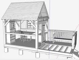 timber frame design using google sketchup download how to build a tool shed base and frame arched arbor designs