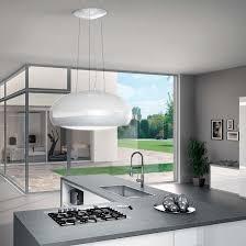 designer kitchen extractor fans elica pearl designer island hood epicair co uk