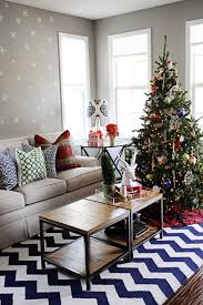 christmas holiday decorations home tour pink peppermint design
