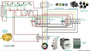 3 phase forward and reverse wiring diagram pdf circuit and