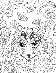 coloring pages with foxes here are a pair of coloring pages