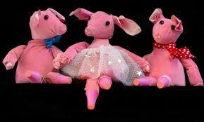 pigs lambert puppet theatre backstage sat