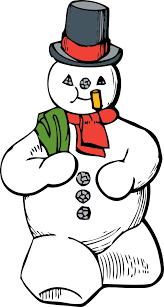 snowman coloring book colouring christmas xmas coloring book