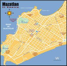 Sinaloa Mexico Map Mazatlan Map My Blog